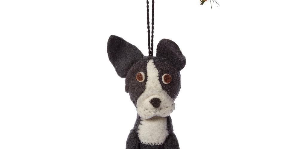 Frenchie/Boston Ornament