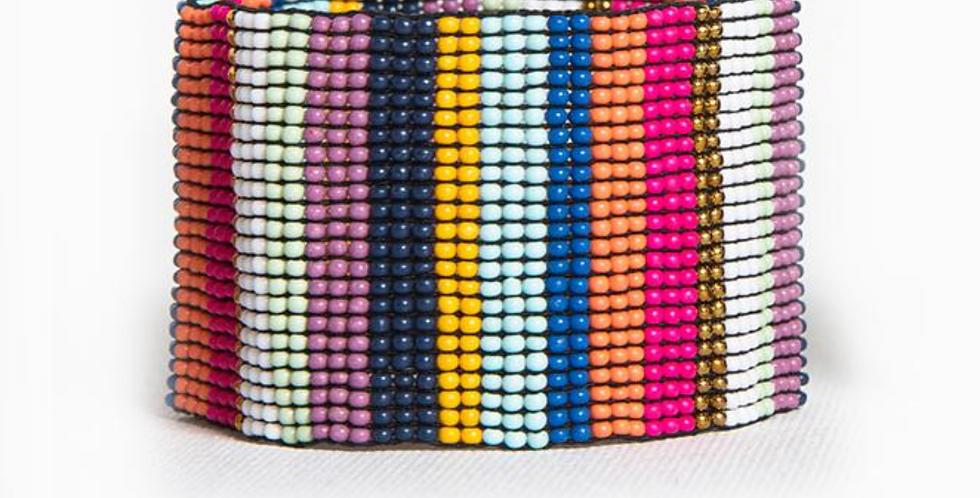 Multi Stripe Stretch Bracelet