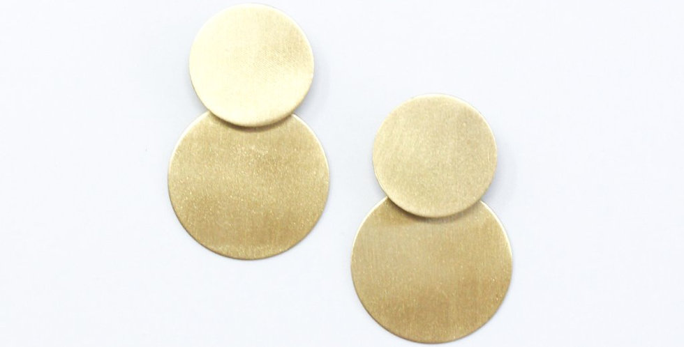 Small Circle Earrings