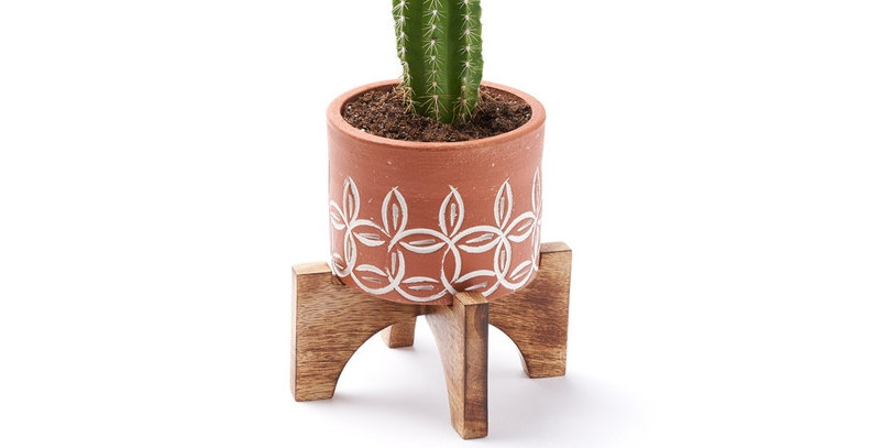 Terra Mango Planter with Stand - Small