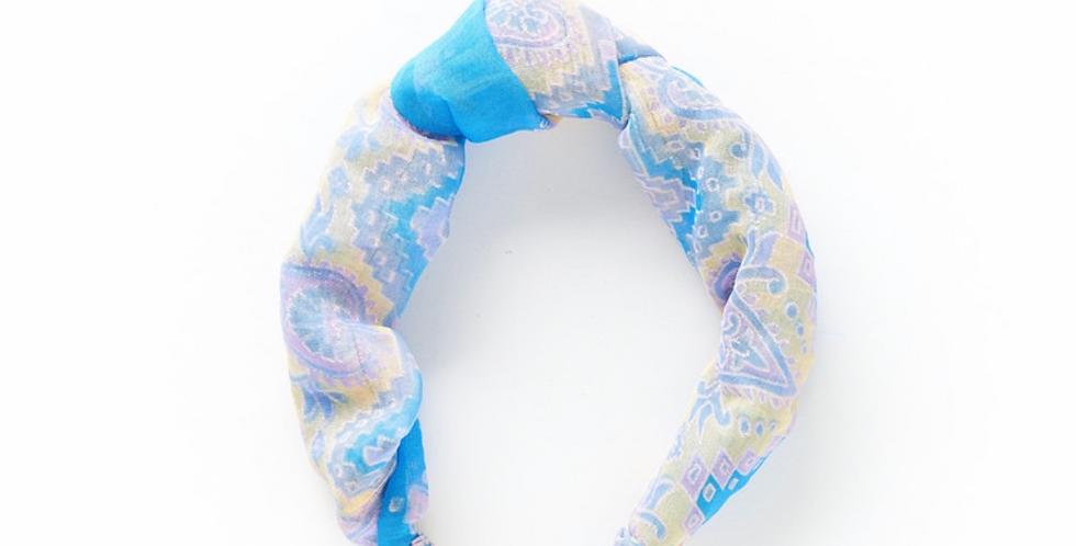 Upcycled Sari Knotted Headband - Assorted