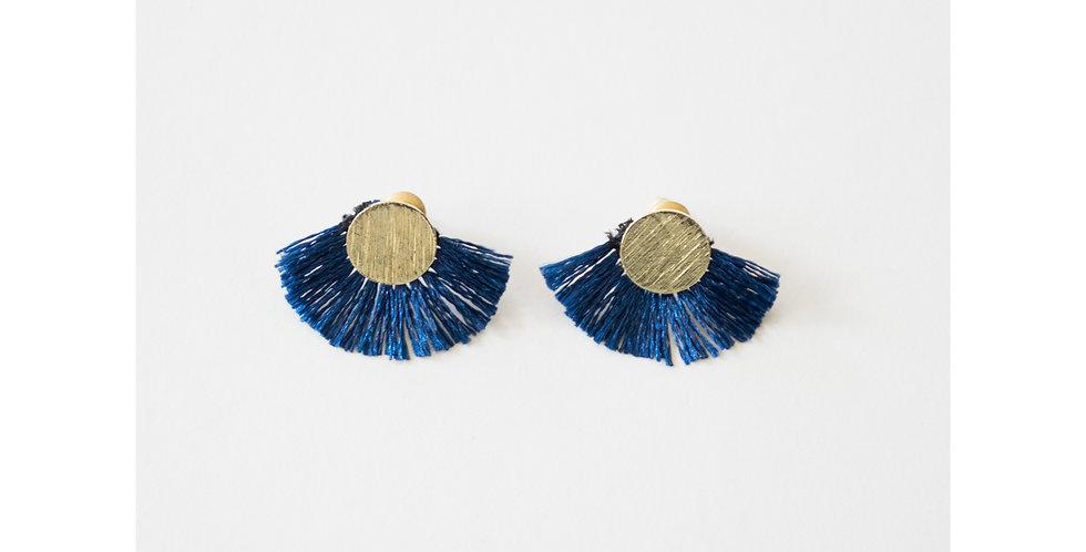 Carousel Earrings Navy