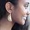 Thumbnail: Rainbow Post Brass Earring