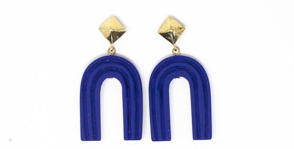 Ultramarine Rainbow Earrings
