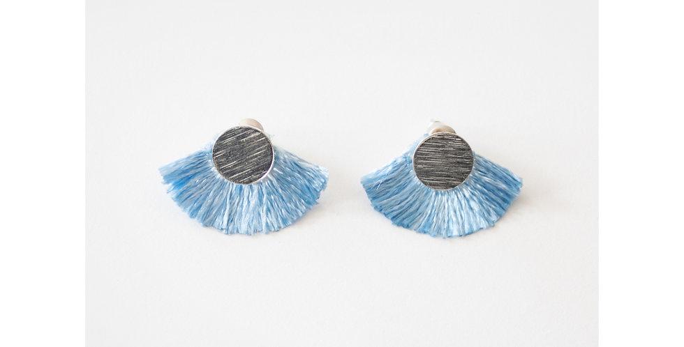 Carousel Earrings Pale Blue