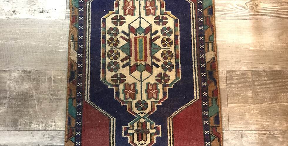 Vintage Turkish Rug - Multi