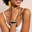 Thumbnail: Pink Peacock Yellow Horizontal Stripe Stretch Bracelet