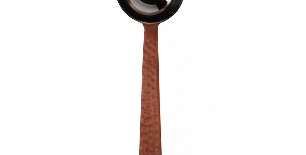 Hammered Stainless Steel Coffee Scoop