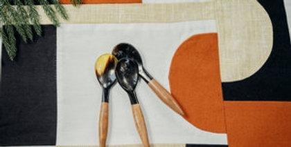 Horn + Wood Mini Spoon