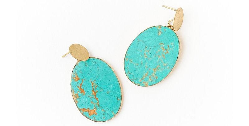 Sandhya Earrings - Coin
