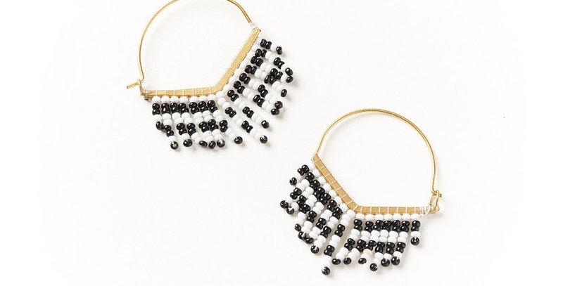Kalapriya Earrings - Stripe Chevron