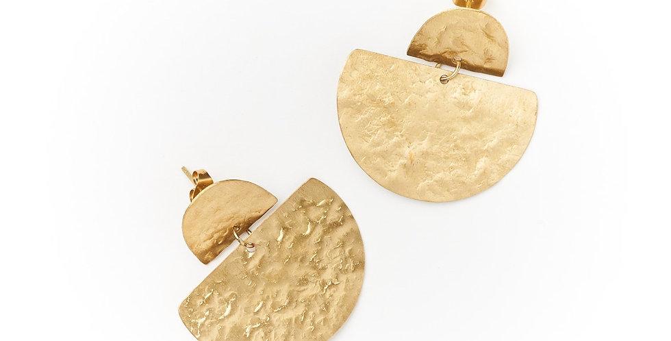 Jayanti Earrings - Gold Stud