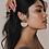 Thumbnail: Jayanti Earrings - Gold Stud