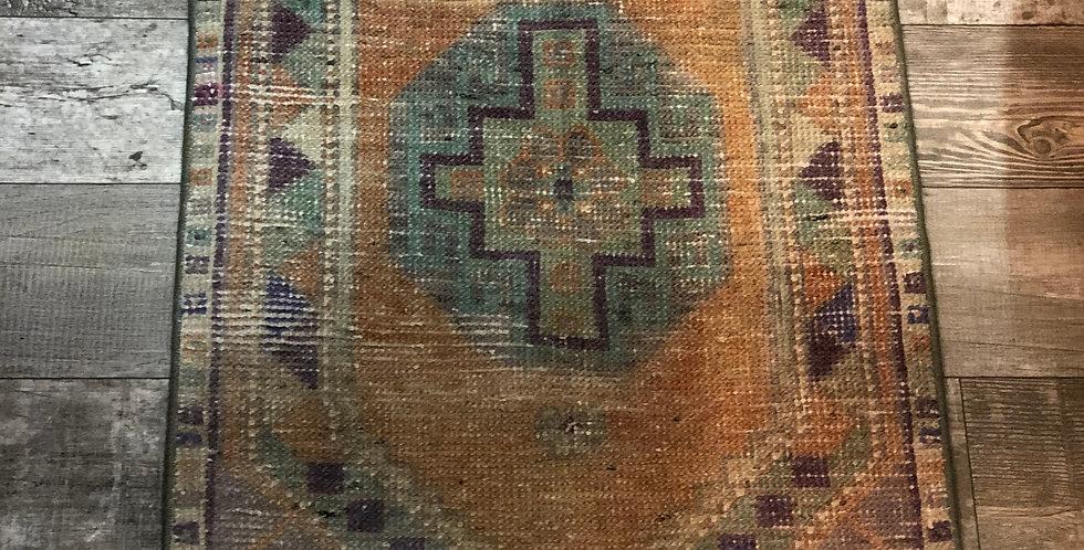 Vintage Turkish Rug - Pastel