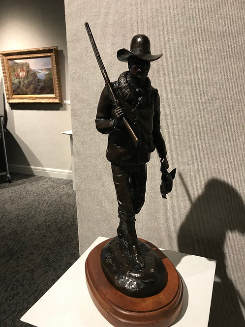 Sunday Supper Bronze by Ted Long