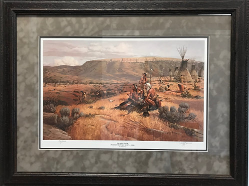The Spectator Framed Print by Ted Long