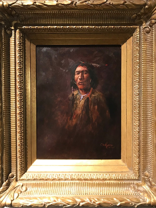 Indian Chief by Ted Long
