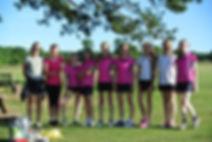 Surrey Modern Pentathlon Club's running team