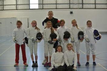 Surrey Modern Pentathlon Club's Fencing Team