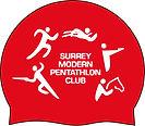 Surrey Modern Pentathlon Club swimming cap