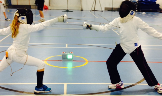 couple fencing
