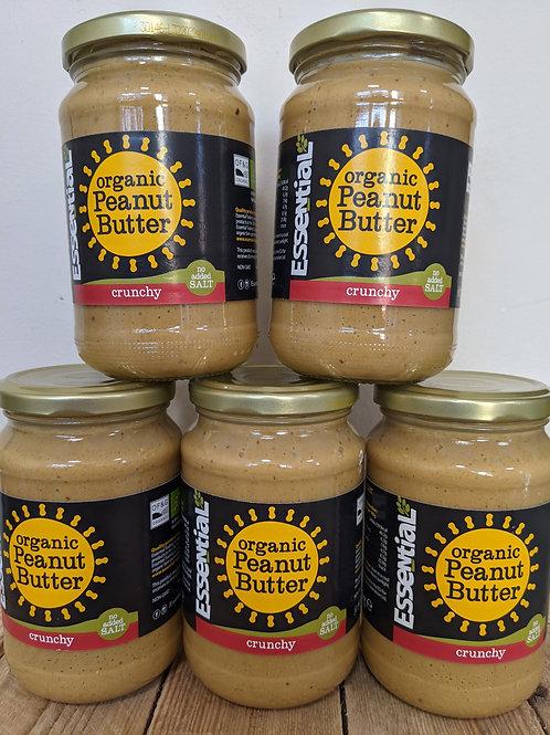 Peanut butter: crunchy 350g jar