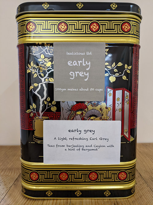 Tea - Early Grey (loose-leaf) - 100g