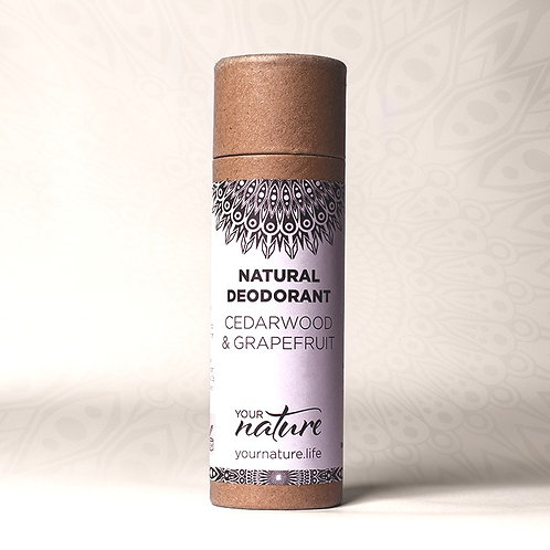 Your Nature Natural Deodorant - Cedarwood and Grapefruit