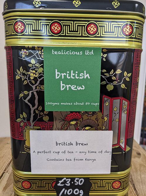 Tea - British Brew (loose leaf) 100g