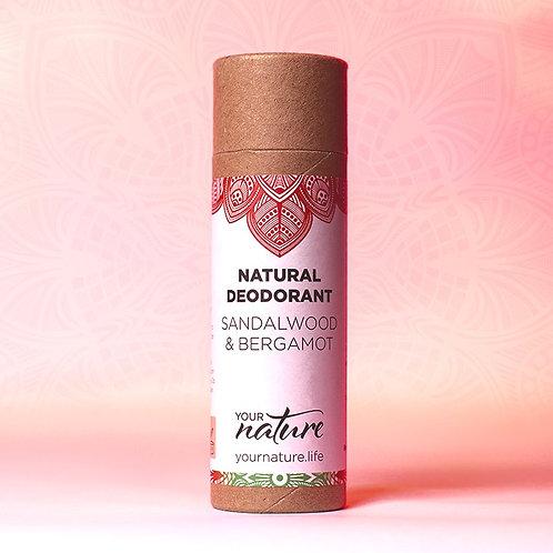 Your Nature Natural Deodorant - Sandalwood and Bergamot