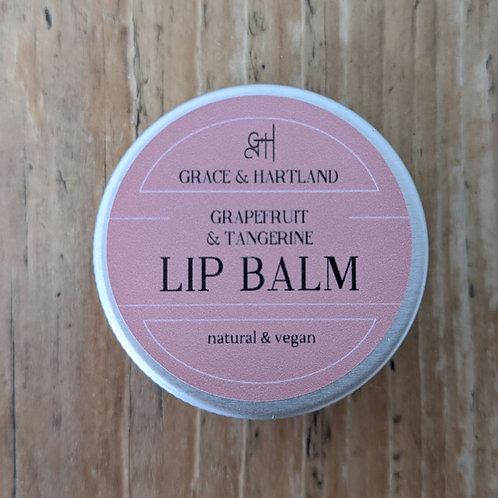 Pink Grapefruit & Tangerine Lip Balm