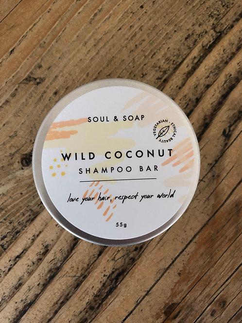 Soul & Soap Wild Coconut Solid Shampoo Bar