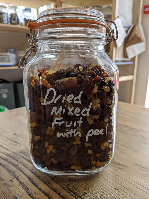 Dried mixed fruit with peel - 500g
