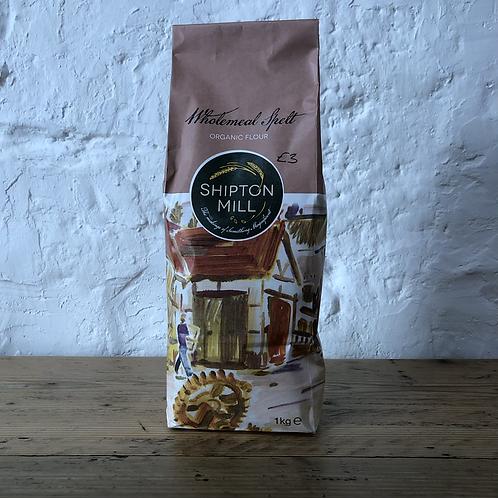 Flour - Organic Wholemeal Spelt - 1kg bag