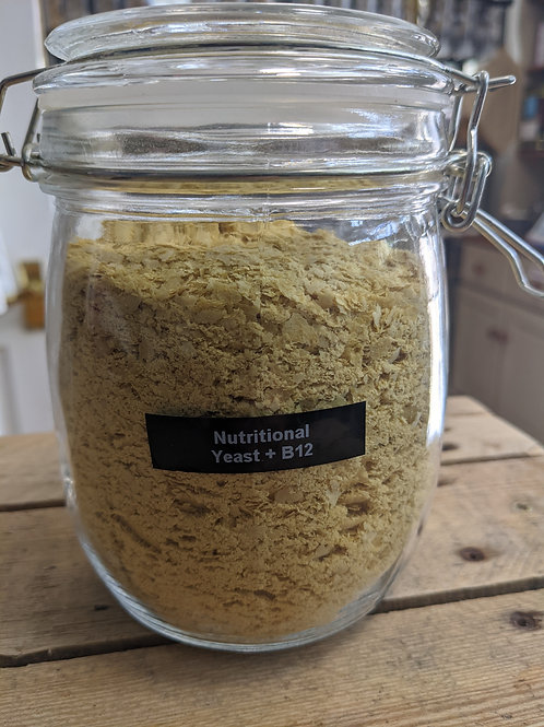 Nutritional Yeast Flakes with B12 - 100g