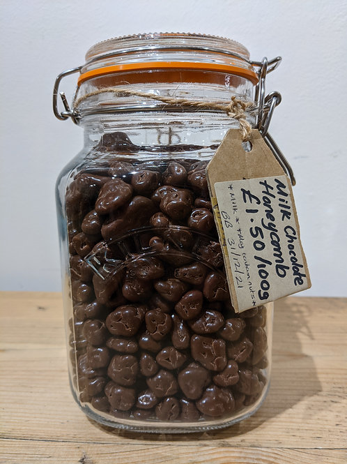 Milk Chocolate Honeycomb Bites (Ooh! Chocolata) - 100g