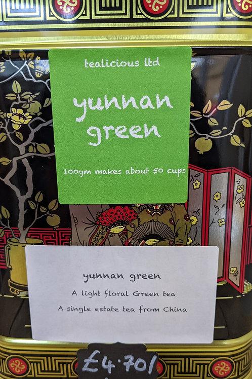 Tea - Yunnan Green (loose leaf) - 100g