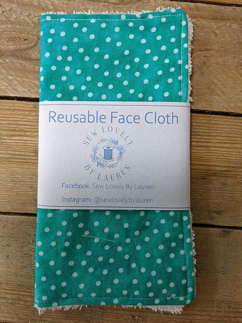 Face cloth (reusable)