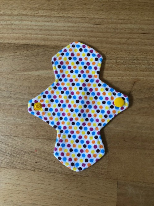Reusable Cloth Pad Pantyliner 6.5in/16cm
