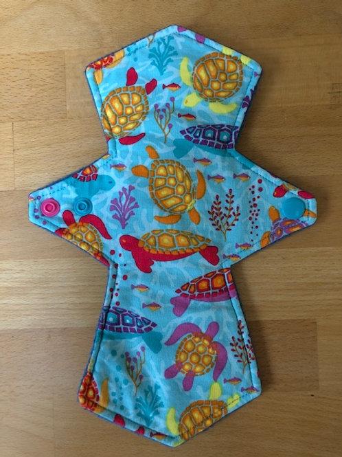 Reusable Cloth Menstrual Pad  10inch/25cm (Moderate)