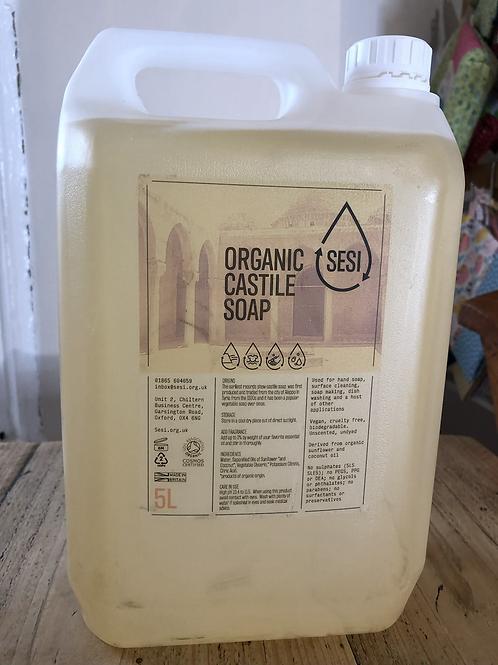 Castile soap (organic) - 500ml
