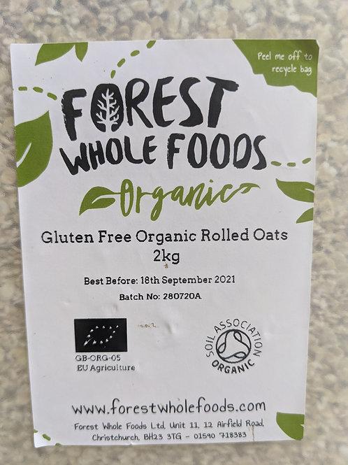 Gluten Free Organic Rolled Oats - 250g