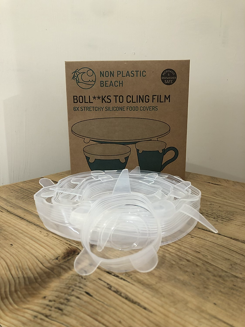 Silicone food covers - Non Plastic Beach Boll**cks to Clingfilm