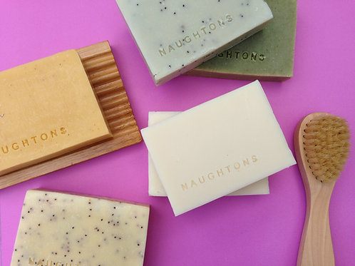 Soap - Naughtons Skincare Coconut Cleansing Bar