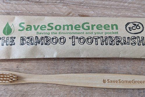 Toothbrush (bamboo) - adult