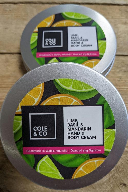 Hand & Body Cream (Cole & Co) - 115g