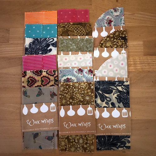 Beeswax Wraps - odds and ends