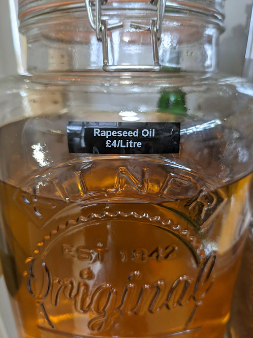 Rapeseed Oil - 500ml (refill)