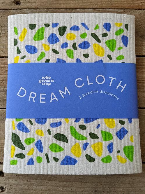 Dream Cloth - 3 x Swedish Dishcloths