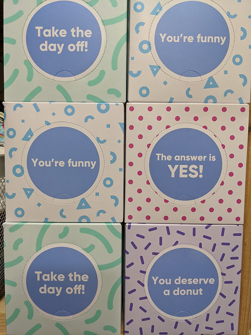 Tissues (Who Gives a Crap ) - 1 Box
